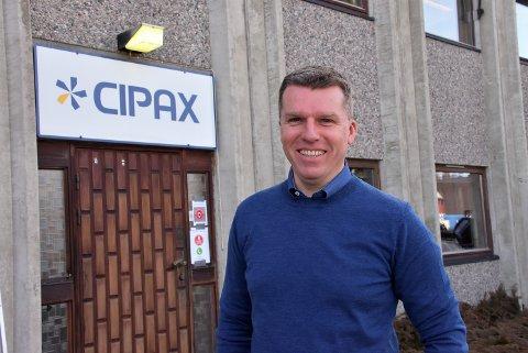 – Vi selger stadig flere båter i det europeiske markedet, sier Dag Eirik Thomassen, administrerende direktør ved Cipax. Foto: Trym Helbostad