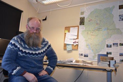 Bygdebokforfatter Frode Myrheim har vurdert å slutte flere ganger. Arkivfoto: Trym Helbostad