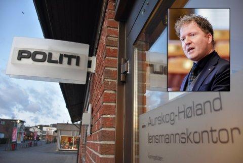 MÅ LYTTE TIL ADVARSLENE: Senterparti-politiker Sigbjørn Gjelsvik ber justis- og beredskapsminister, Monica Mæland, om å lytte til advarslene om nærpolitireformen.
