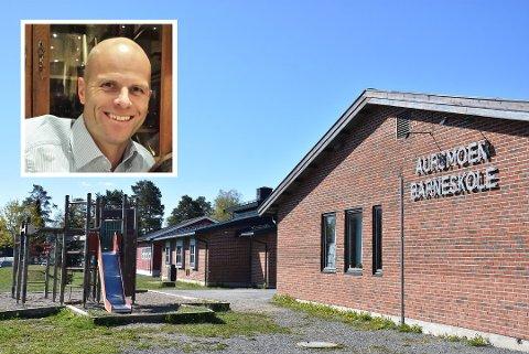 Rune Punnerud starter i jobben som assisterende rektor ved Aursmoen skole til høsten. Foto: Privat/Trym Helbostad