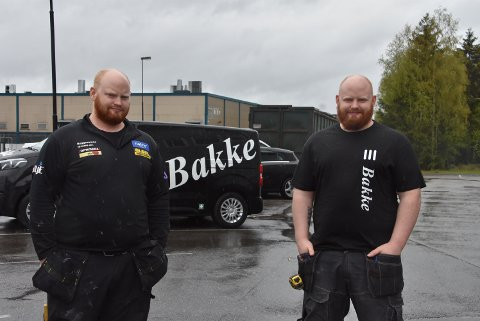 Lite skiller tvillingene Martin og Lasse Hübenthal som runder 30 år fredag 28. mai. Foto: Trym Helbostad