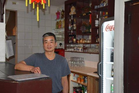 FÅR DET TIL: Chenglong Dong vet hva som skal til for å drive et spisested med overskudd.