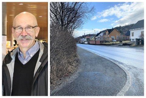 Leder i Planutvalget Norvald Ruderaas fikk i planutvalgsmøtet 26. mars klagesaken om klipping av hekk på bordet. Alstahaug kommune ønsket å klippe hekken, mens klager mente dette var urimelig. Klager fikk ikke medhold.