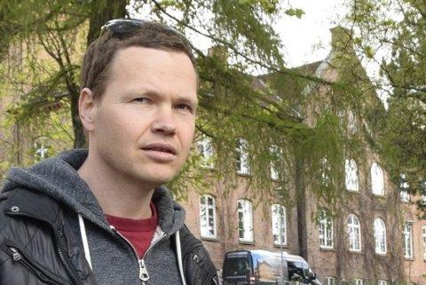 AMANDA-NOMINERT: Filmkomponist Magnus Beite fra Lillehammer. (Foto: Olav Brostrup Müller)