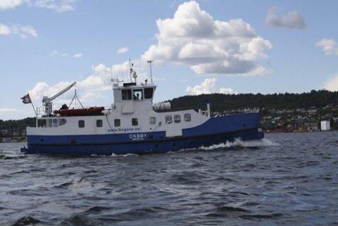 FERGE: Styret i Brevik Fergeslskap IKS vil diskutere et mulig samarbeid med Kragerø Fjordbåtselskap.