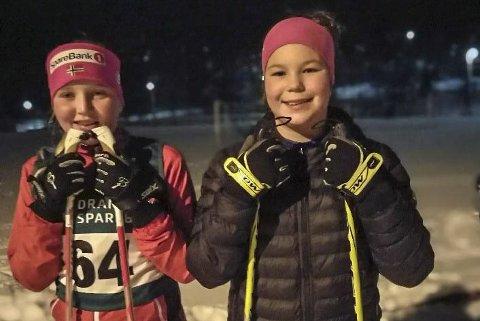 Konkurrenter: Lagvenninnene Hedda Lohne Tveit og Julie Tørnes Kleiv fra Tørn.