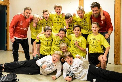 Kragerøs gutter 12 år er klare for semifinalen i Region Sør-cup etter seier over HK-72 Sande.