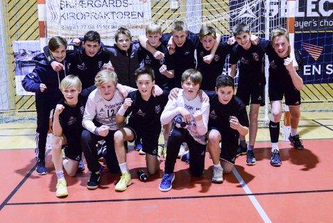 En liten sensasjon da 12-årslaget slo 13-årslaget i seminfinalen i Region Sør-cup.
