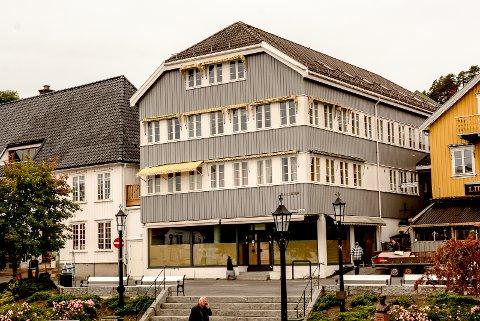 FIKK JA: Politikerne ga klarsignal til en ombygging av Sentrumsgården til leilighetshotell.