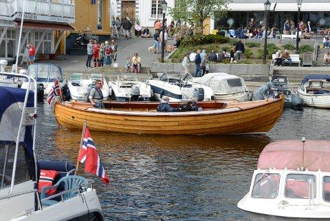 Det blir en smak av sommer i helga, og garantert mye folk i Kragerø. Illustrasjonsfoto