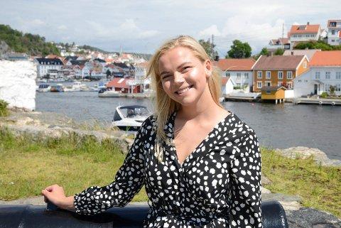 Hanna Solemdal ser fram til å stå på scenen på Gunnarsholmen under Kragerøfest.