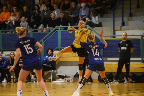 Maja Furu Sæteren var den store måltyven i cupkampen mot eliteserielaget Oppsal. Maja noterte seg for 10 scoringer.