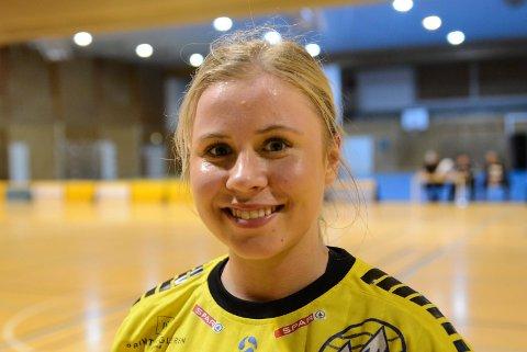 To scoringer: Tuva Muffetangen noterte seg for to spillemål for Larvik i kampen mot Storhamar.