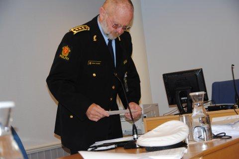 Politiadvokat Harald Bilberg la ned påstand om 21 dagar i fengel for den sikta i saka der Atle Eide omkom i ei bilulukke.