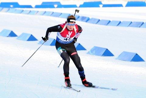 22. PLASS: Martin Femsteinevik fekk 22. plass begge dagane under sesongopninga i helga. (Foto: Svein Halvor Moe).
