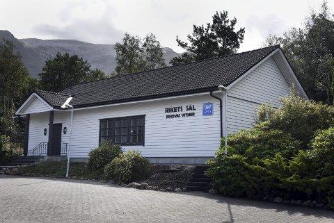 Rikets sal: Jehovas vitner sitt menighetshus i Herøysund.