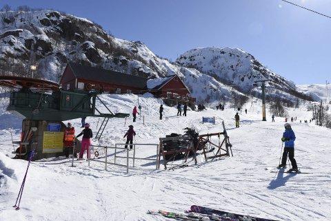 BRA AKTIVITET: Pengar inn til skisenteret i 2018.