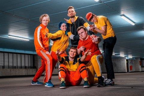 Bandet car.pool blei vinnar av Vestlandssatsinga 2020, og får spela på Festidalen i sommar. (Pressefoto).
