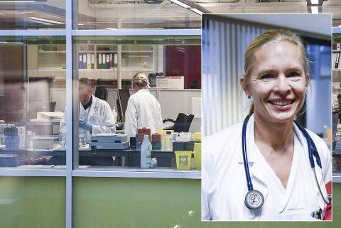 Kristin Greve Isdahl-Mohn advarer på det sterkeste mot å oppsøke smitte.