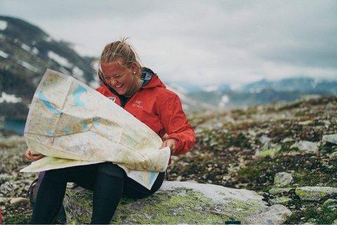 MASSIV: Brita Buer skal gå 350 km gjennom Breheimen, Jotunheimen, Skarvheimen og Hardangervidda på 16–17 dagar.