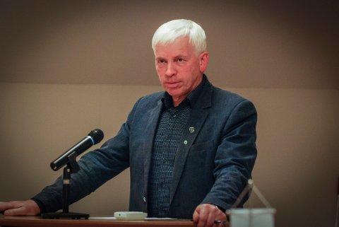 FORNØYD: Oddvar Garaas var fornøyd med presentasjonen av budsjettet for kommende år.