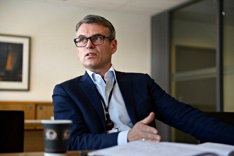 Rune Thoresen, administrerende direktør i FMC Kongsberg Subsea AS