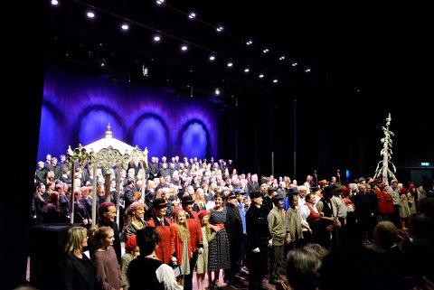 Kongsberg og Numedal har et rikt kulturliv. Send oss informasjon om DIN forening! Her fra åpningen av Kongsberg musikkteater.
