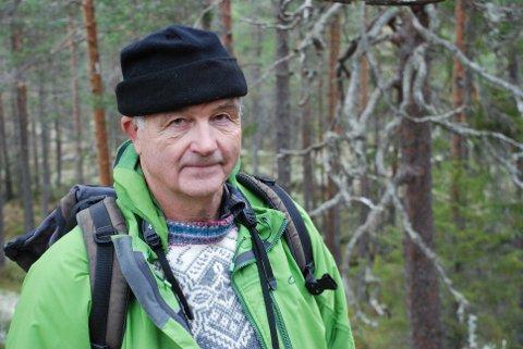 Martin Lundal er leder i Naturvernforbundet Buskerud. Han er kritisk til hvordan kommunene, blant annet Kongsberg, jobber med naturvern.