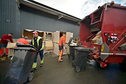NY AKTØR: Kommunen har inngått avtale med en ny privat aktør om søppelinnhenting.