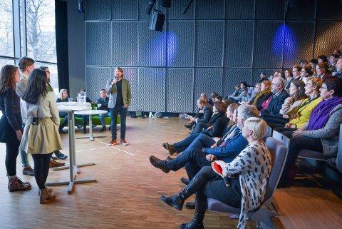 NY KONFERANSE: For andre år på rad legges kulturkonferansen i Buskerud til Kongsberg under Glogerfestspillene. Bildet er fra arrangementet i fjor.