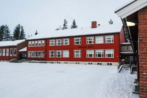 JOBBES: Det jobbes i Flesberg kommune med å finne ut hva som skal skje med de gamle skolene i Lampeland og Flesberg.