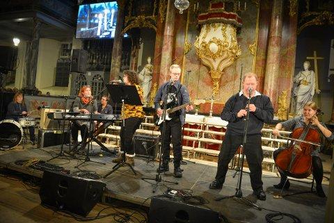 NY KONSERT: Musikkgledebandet har skiftet navn til Krutt. Onsdag kan de igjen oppleves i Kongsberg kirke.
