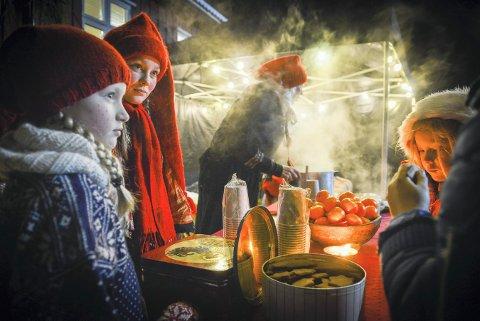 Julemesse og julegrantenning i Jondalen i 2016.