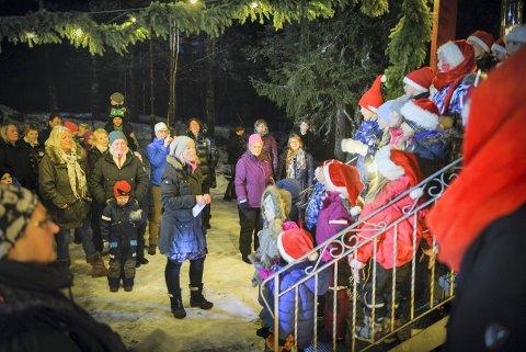 Julemesse og julegrantenning i Jondale i 2016.