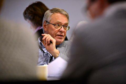 STYRELEDER: Kjell Gunnar Hoff er styreleder i KKE. Han forteller om et driftsregnskap i pluss, men at selskapet nå har et vedlikeholdsetterslep.