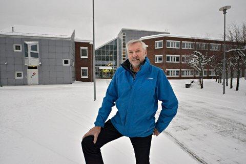 Onsdag vil Per Håvard Kleven og Kongsberg Høyre foreslå et prosjekt hvor kommunen tar sikte på å få tilgang til de tidligere HiBu-lokalene på Raumyr.