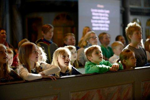 SANGFEST: Torsdag 22. mars arrangeres vårens store sangfest i Kongsberg kirke.