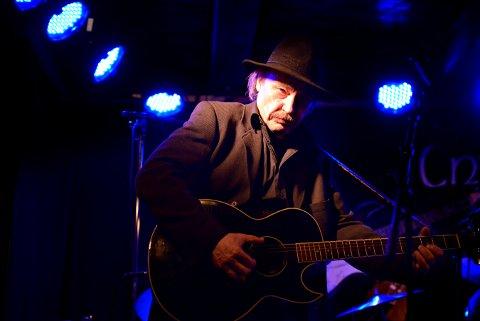 BLUES: Ulf Myrvold holder konsert i Christians kjeller lørdag 26. januar.