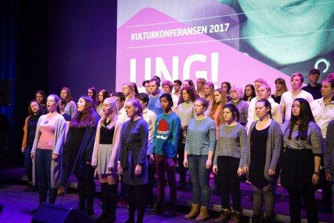 Kulturkonferansen 2017 i Kongsberg musikkteater.