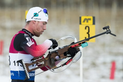 INGEN GOD DAG: Erlend Bjøntegaard ble bare nummer 48 på sprinten i Ruhpolding