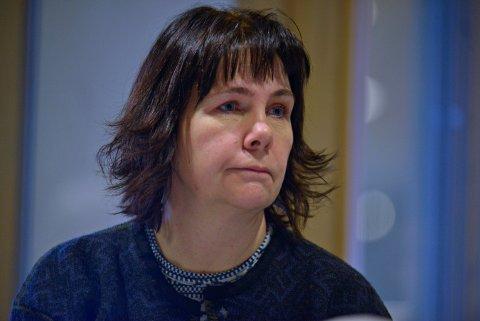 BER OM UTVIDET PERMISJON: Elisabeth Baklia  (Kongsberglista). Bildet er fra første formannskap i  2019.