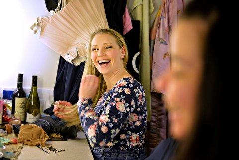 TILBAKE TIL GARDEROBEN: Malin Hoff Skjolde fra da hun spilte i «Phantom of the Opera» i Folketeateret i Oslo. Nå skal hun spille i «Mamma Mia!» til høsten.