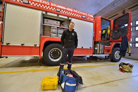 LITT ETTER LITT: Kongsberg brann og redning, ved beredskapsleder Rune Toverud, forteller om utydelige ansvarsforhold mellom brannvesen og ambulanse. Litt etter litt har de fått flere medisinske oppdrag.