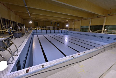 7.225.000 KRONER: Den nye svømmehallen på Stevningsmogen får 7.225.000 kroner fra spillemiddelpotten i Buskerud.FOTO: JAN STORFOSSEN