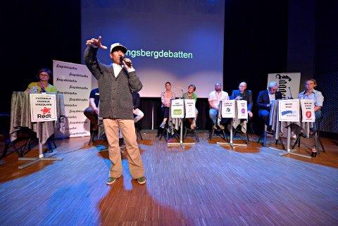 PROVOSERER: Vegard Thomas Olsen har vakt engasjement når han har kalt kongsbergs politikere litt sendrektige. Han ønsker en by hvor de unge får mulighet til å påvirke.