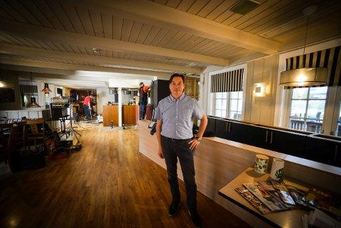 Børre Nilsen som siden 2006 har drevet restaurantene Dolly Dimples og Big Horn Steak House. Nå byttes Dolly ut med Peppes. Foto: Eigil Kittang Ramstad