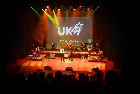 UNG KULTUR MØTES: Lørdag 14. mars arrangeres UKM i Kongsberg musikkteater og lørdag 8. februar arrangeres UKM Numedal i Flesberg samfunnshus. Fylkesmønstringen finner sted i Kongsberg den siste helgen i mars.