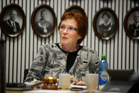 NUMMER 5: Ordfører Kari Anne Sand står på Stortingsvalgsliste for Buskerud Senterparti.