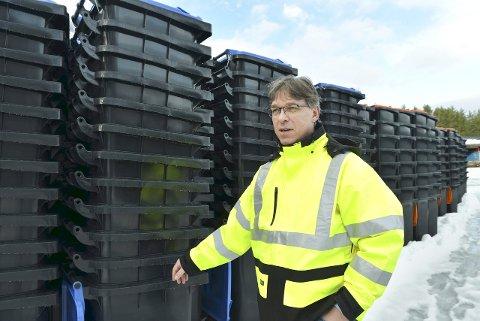 NY SJEF: Ove Reidar Moen har takket ja til jobben som toppsjef for IRMAT på Notodden. I dag er han fagsjef renovasjon i Kongsberg kommune.