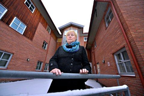 TOK GREP: Mona Grindrud er avdelingssjef for Kongsberg Distriktspsykiatriske senter (DPS). Bildet er tatt i mars.